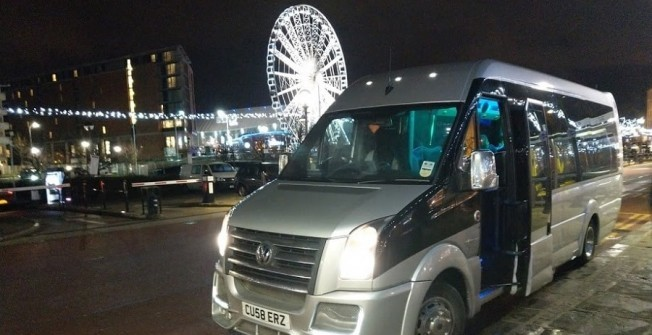 Party Bus Hire in Ashington
